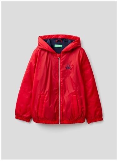 Benetton Yağmurluk Kırmızı